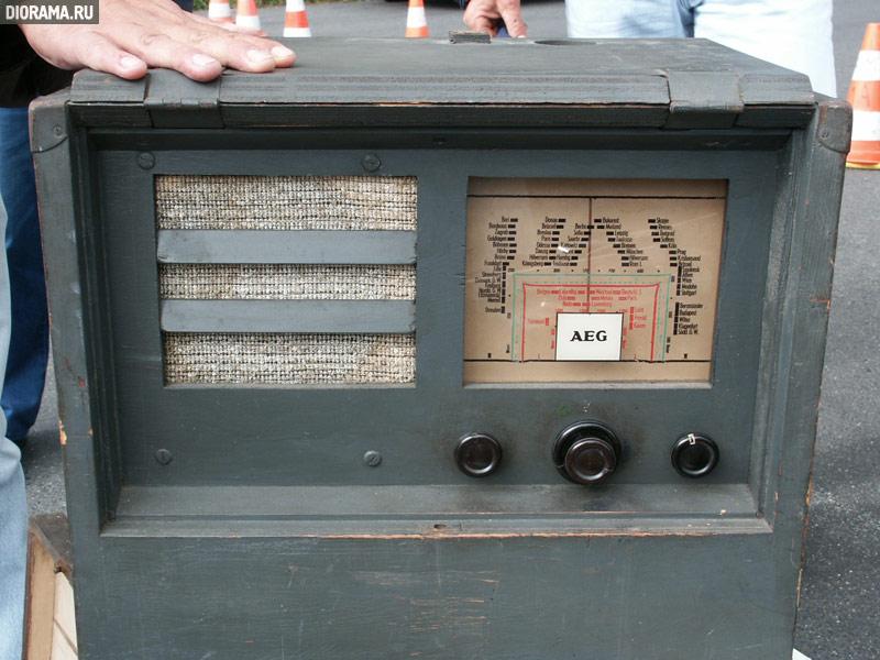 AEG radio set, 1930s-1950s,  (Library Diorama.Ru)