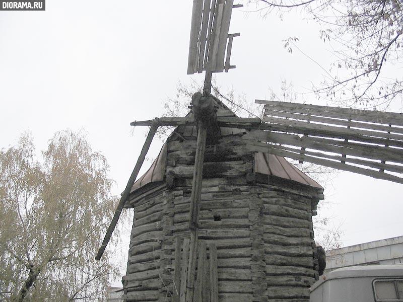 Windmill, late XIX-eraly XX century, Kursk, Russia (Library Diorama.Ru)