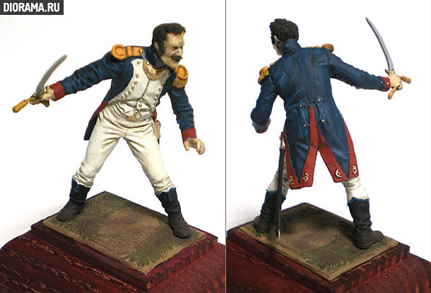 Reviews: Light infantry officer, France, 1810