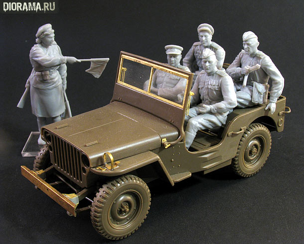 Reviews: Soviet jeep crew
