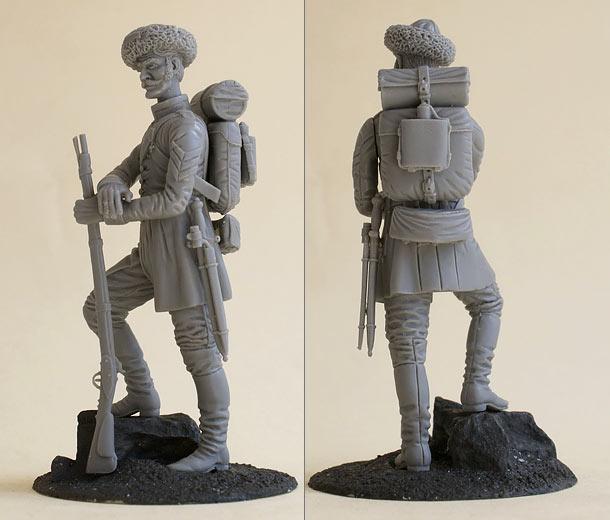 Reviews: Feldwebel, Georgian grenadiers regiment, 1850