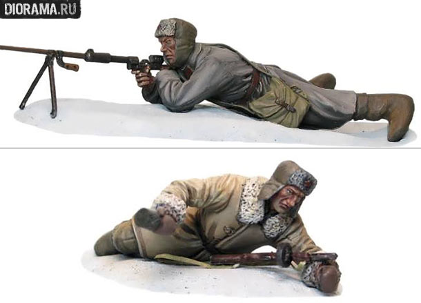 Reviews: Soviet infantry, WWII