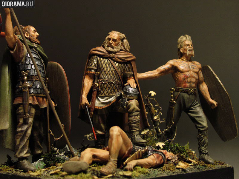 Projects: Germanic warriors, photo #17