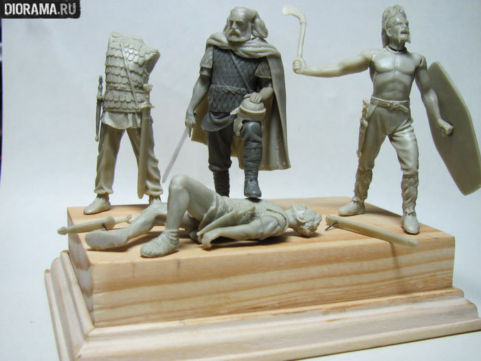 Projects: Germanic warriors, photo #3