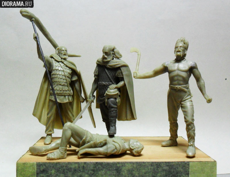 Projects: Germanic warriors, photo #6