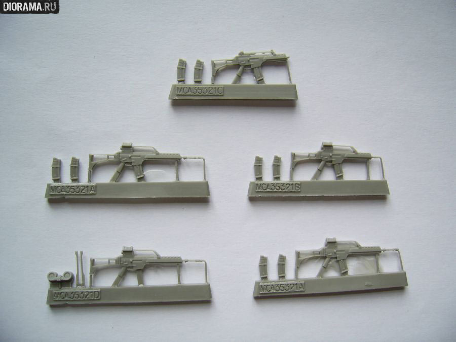 Reviews: G36 assault rifles in 1/35 scale, photo #2