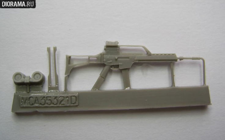 Reviews: G36 assault rifles in 1/35 scale, photo #3