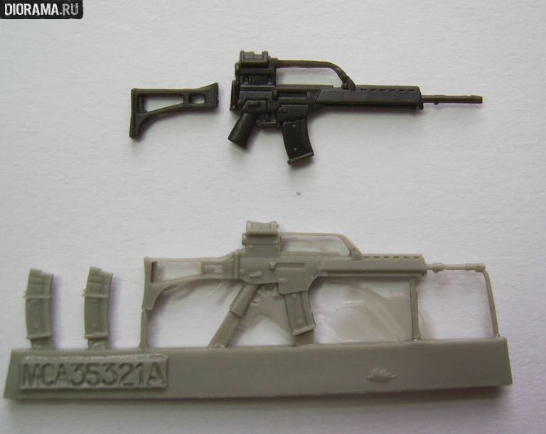 Reviews: G36 assault rifles in 1/35 scale, photo #6