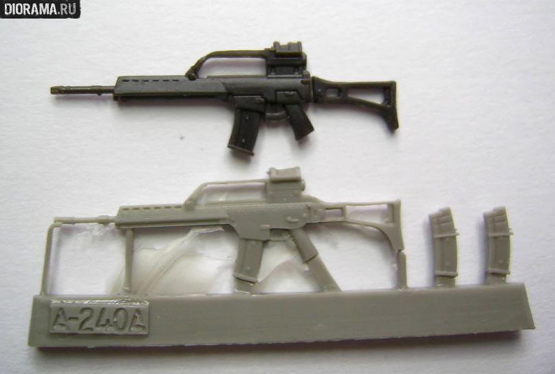 Reviews: G36 assault rifles in 1/35 scale, photo #7