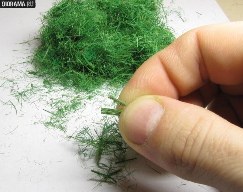 Искусственная трава для поделки своими руками 88