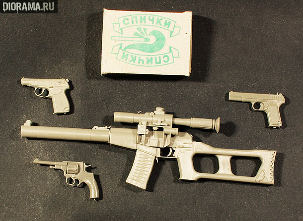 Reviews: Soviet firearms in 1/6 scale
