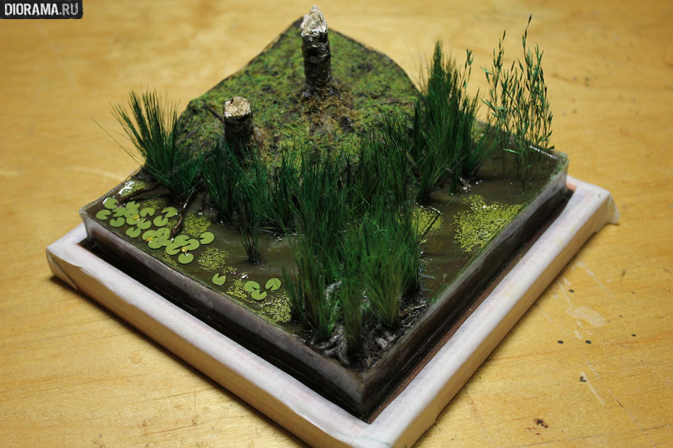 Pictures of Wetland Diorama http://en.diorama.ru/workshop/features/207/photo63/