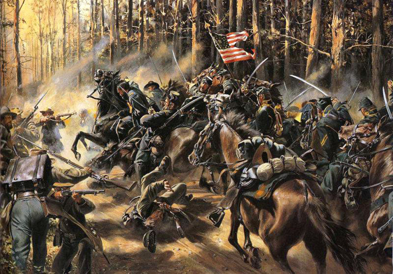 Reviews: 8th Pennsylvania Cavalry  Battle of Chancellorsville, May 2nd, 1863. , photo #1