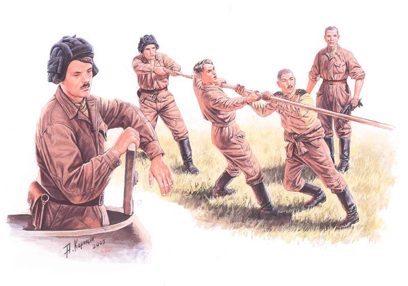 Reviews: Soviet Tank Crew at Work, photo #1